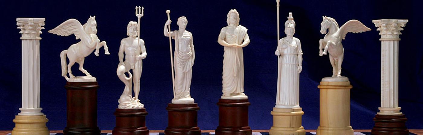 Скульптурные шахматы