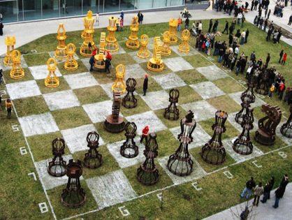 Уникальный набор шахмат
