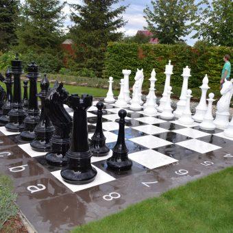 1. Парковые шахматы из стеклопластика