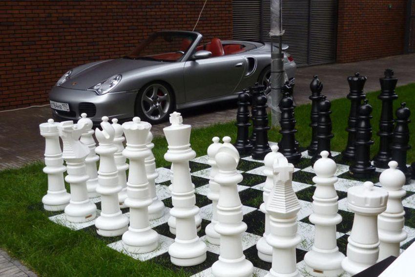 Гигантские садовые шахматы