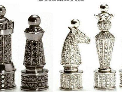 Самые дорогие шахматы в мире.